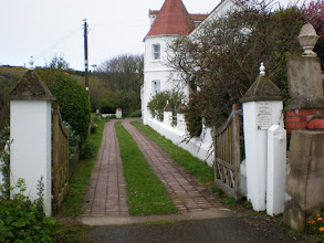 Photo: From Solva to St David's (Right of way through a mansion)