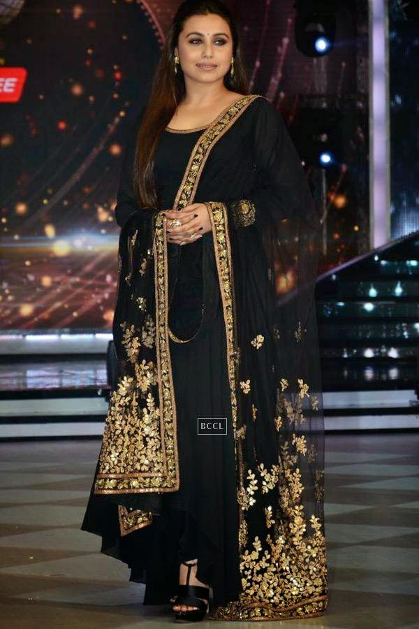 Rani Mukerji on the sets of Jhalak Dikhhla Jaa 7.(Pic: Viral Bhayani)