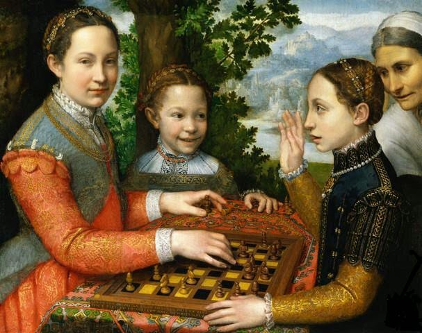 Billedresultat for sofonisba anguissola the chess game