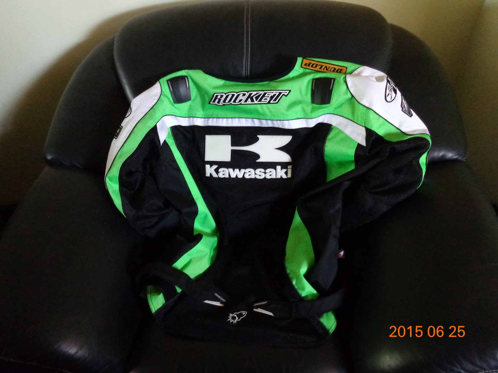Joe Rocket Kawasaki Mesh Jacket