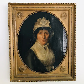 Antique Oil Portrait #1