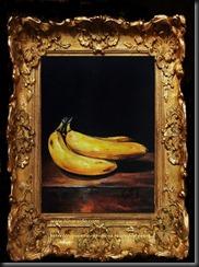 framed banana