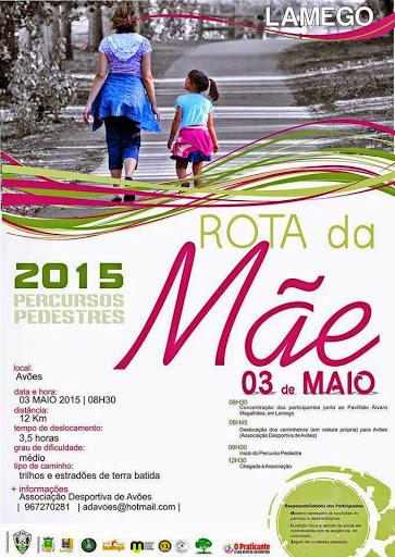Programa - Rota da Mãe - Lamego - 3 de Maio de 2015