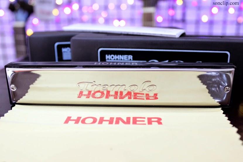 Kèn Harmonica - Hohner 21 Tremolo Deluxe (key A)