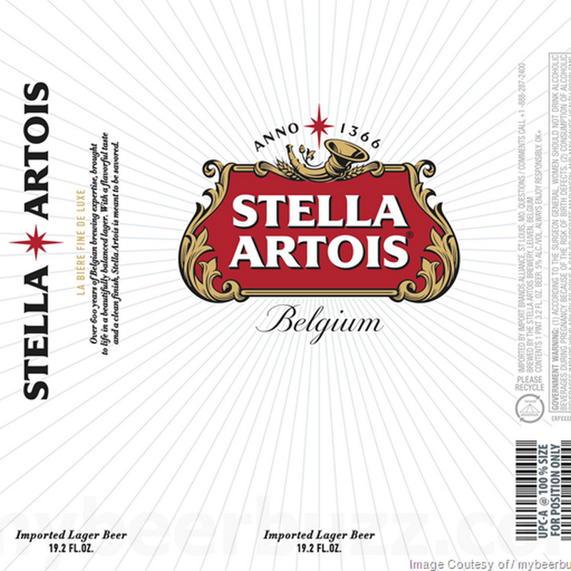 Stella Artois Adding New 19.2oz Cans
