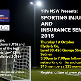 NSW Sporting Injuries Seminar