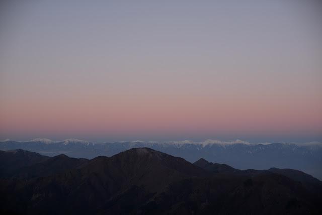 三つ峠から 南アルプス
