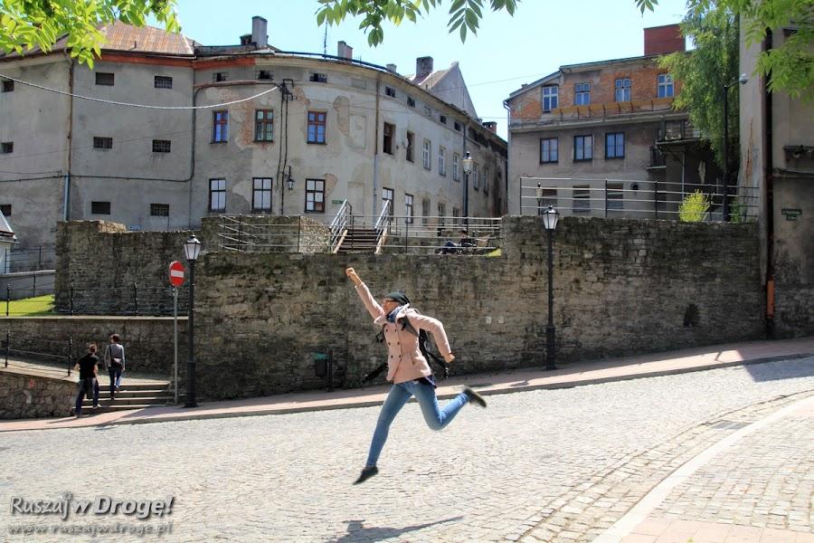Kasia na uliczkach Bielsko-Białej
