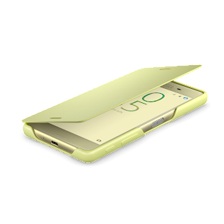 Flip Cover Xperia X Table Top Lime Gold.png