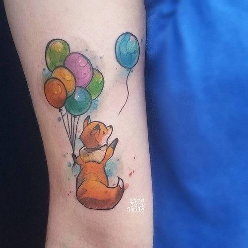 esta_linda_fox_aquarela_tatuagem