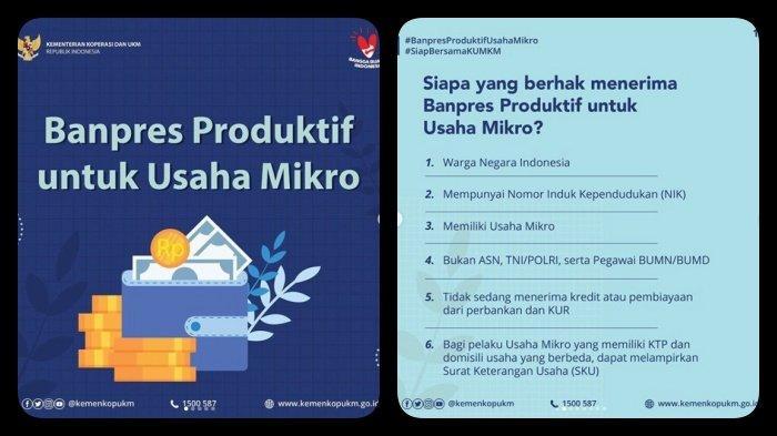 Daftar Online BPUM Tahap 2 Cek Penerima Banpres UMKM di ...