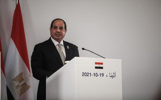 Αλ Σίσι: Να ενισχυθεί η συνεργασία στον τομέα της ενέργειας