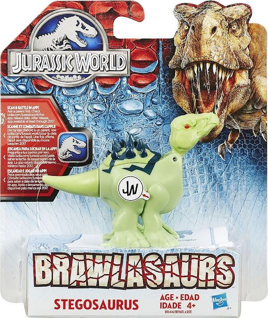 Sản phẩm Khủng long Lưng gai Stegosaurus Chiến đấu Jurassic World Hasbro B1147/B1143