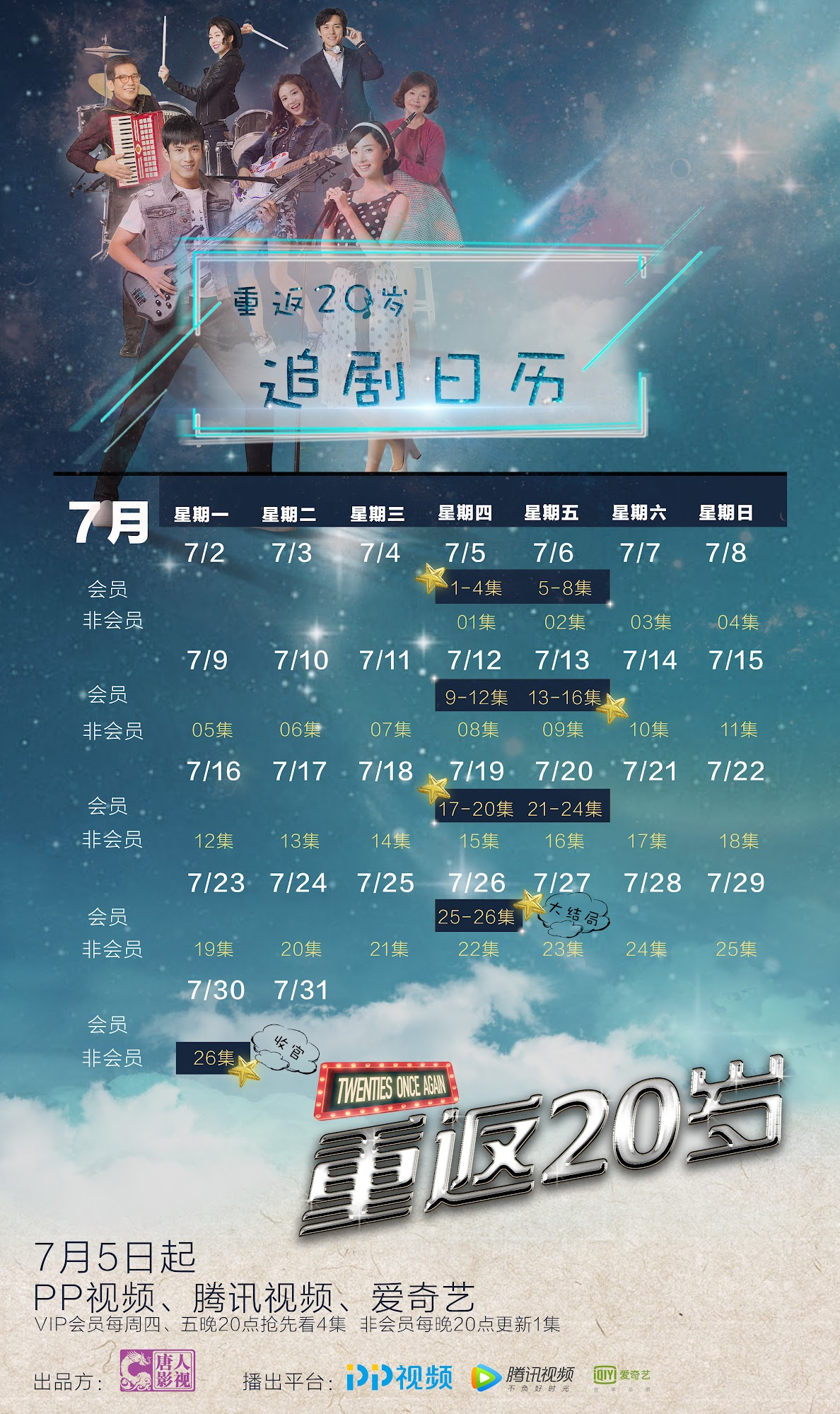 Twenties Once Again China Web Drama