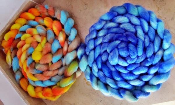 gefärbtes BLF