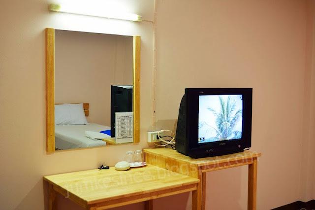 การตกแต่งภายในห้องพัก บ้านภูนารา