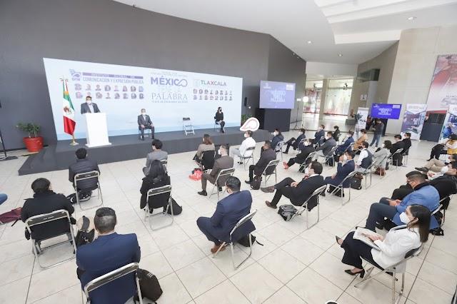 """Inicia concurso nacional de oratoria """"México tiene la palabra"""": Marco Mena da bienvenida a participantes"""