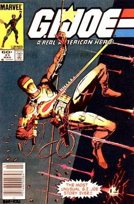 G.I Joe saat dipegang Marvel