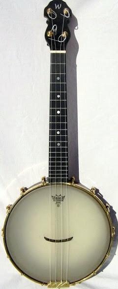Grant Wickland Tenor Banjolele Banjo Ukulele