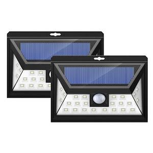 Set 2 x lampa solara 32 LED si senzor de miscare