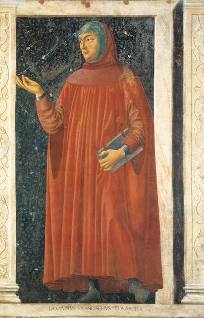 Andrea del Castagno - Francesco Petrarca