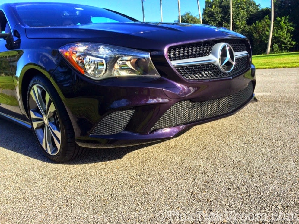 2014 Mercedes-Benz CLA250 Long-Term Test Car - Northern Lights Violet Metellic Long Term Review Road Test 4082
