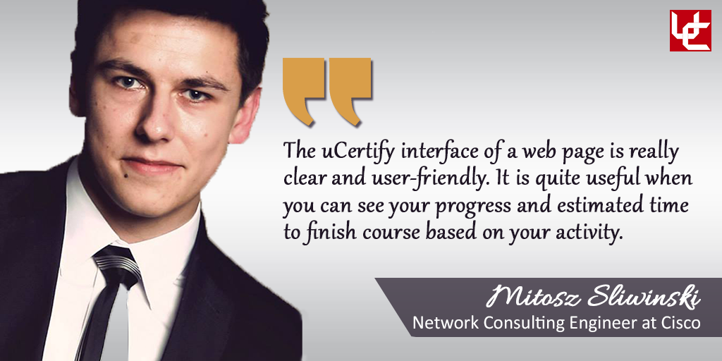 milosz sliwinski has one year of experience in information technology domain he is currently working as network consulting engineer at cisco - Network Consulting Engineer