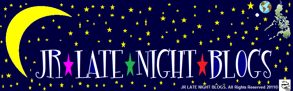 JR Late Night Blogs (2011 Blog Header)