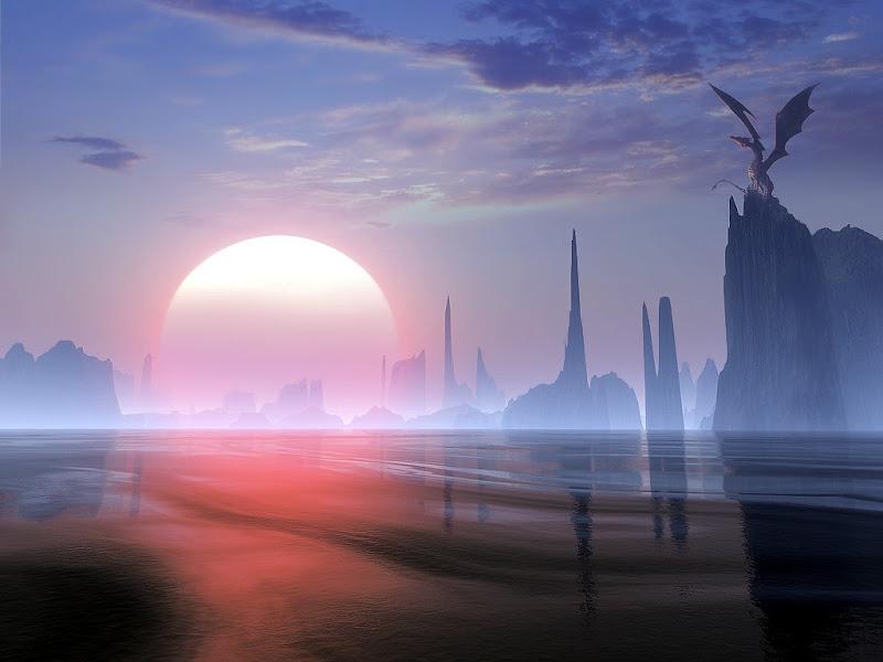 Magick Landscape Of Deep 9, Magical Landscapes 5