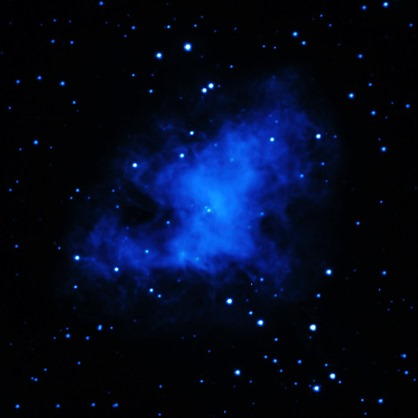 XMM-Newton (ultraviolet) Image of the Crab Nebula