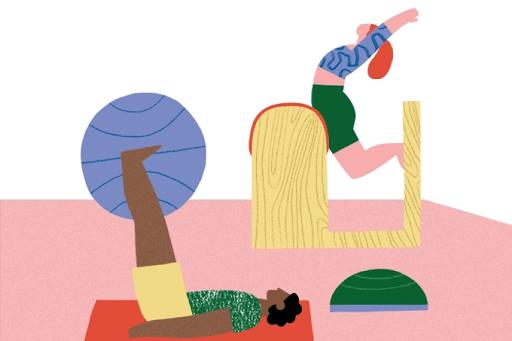 Cinco exercícios de pilates que melhoram o seu desempenho sexual