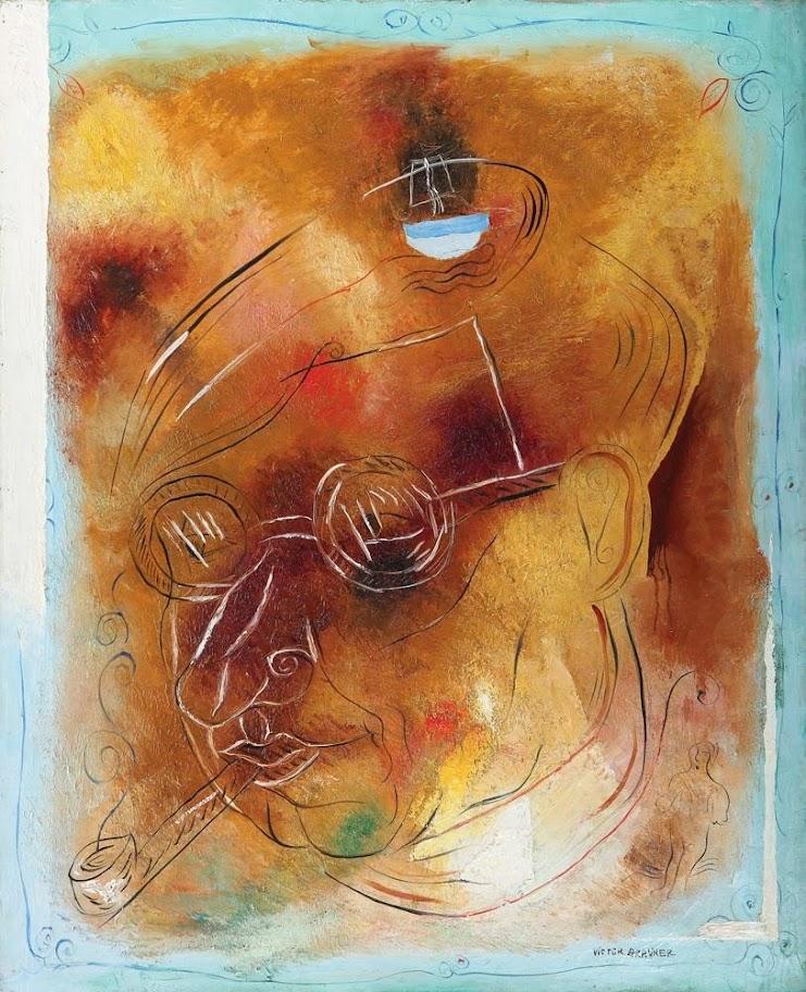 Victor Brauner - Portret pentru mai târziu (Poetul Ion Minulescu)