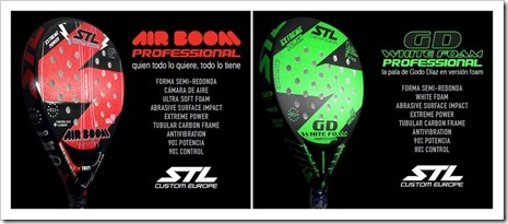 Modelos Air Boom yGD White Foam de Steel Custom 2016