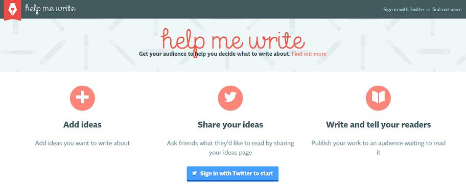 Help Me Write