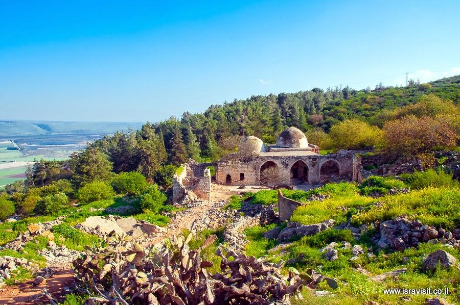 Гробница Наби Юша, и Иисуса Навина?