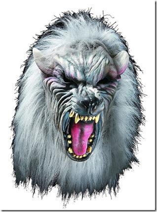 Máscara de plata del hombre lobo