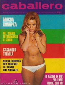 Magda Konopka Spanish Magazine Cover Caballero