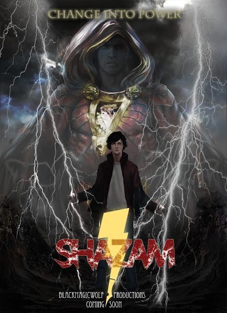 This is the official poster for our SHAZAM! Project