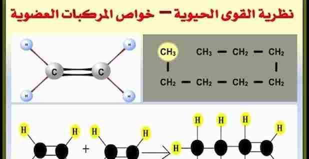 مراجعة الكيمياء العضوية للثالث الثانوى ومراجعة نظرية القوى الحيوية و خواص المركبات العضوية