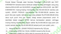 Terkait Kasus APBD Riau 2014, Bupati Pelalawan Bantah Terima Suap