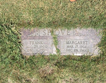 Shove Hammon Margaret gravestone