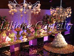 Fotos de decoração de casamento de Casamento Samia e Rafael no Marina Barra Clube da decoradora e cerimonialista de casamento Liliane Cariello que atua no Rio de Janeiro e Niterói, RJ.