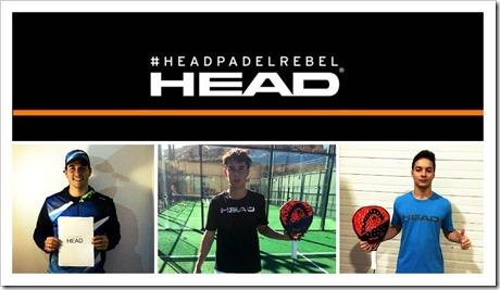 """HEAD refuerza su """"Team"""" con tres nuevos fichajes: Javier Martínez, José D. Sánchez y Javier Redondo."""