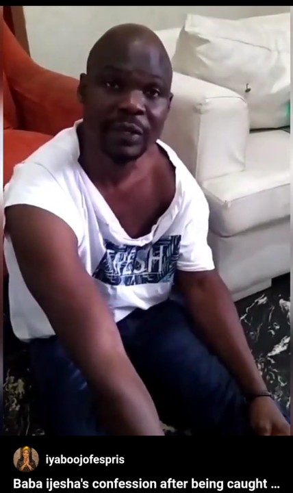 Video Of Baba Ijesha Begging After Being Caught Molesting Minor