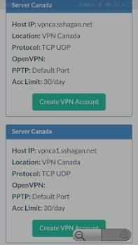 SSHAGAN: Free VPN