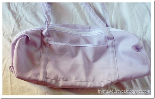 Lacey Purple Doll Carry Bag