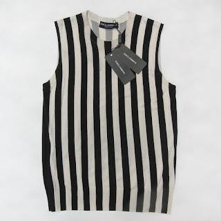 Dolce & Gabbana NEW Silk Knit Sleeveless Sweater