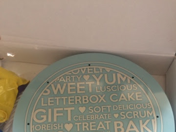 Bakers days letterbox cakes