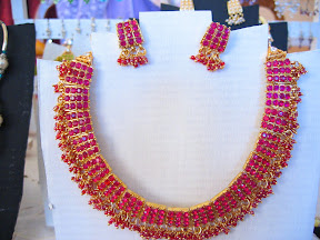 pink Indian necklace $10.00