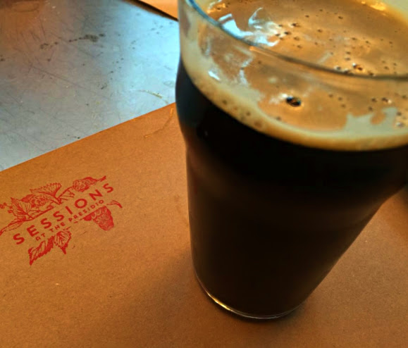 Dark Sarcasm porter at Sessions